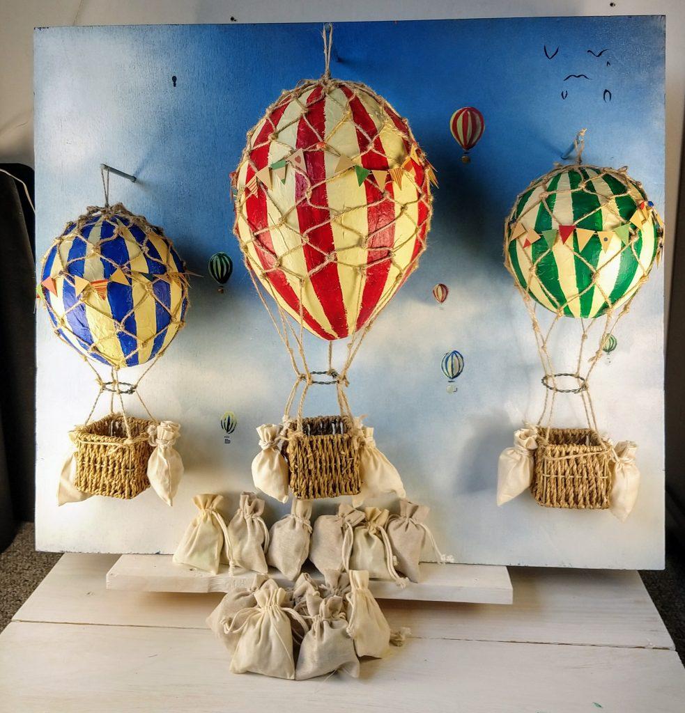 Doopsuiker presentatie Luchtballon